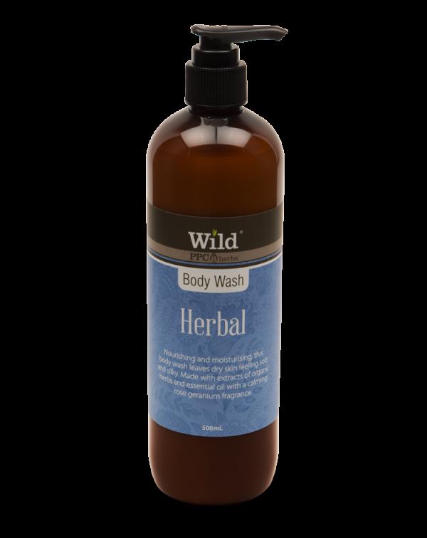 Wild Herbal Bodywash 500